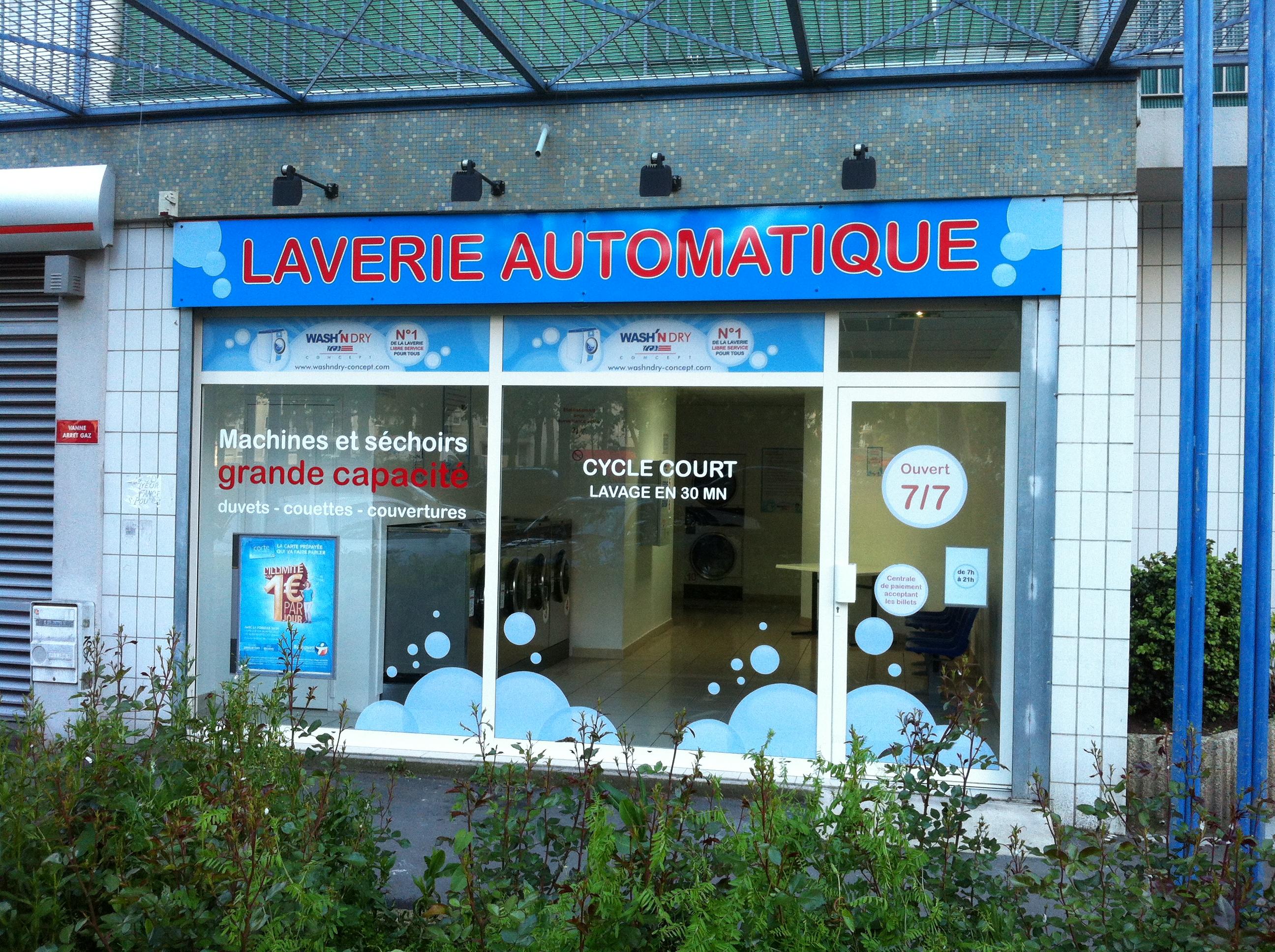 business plan laverie libre service
