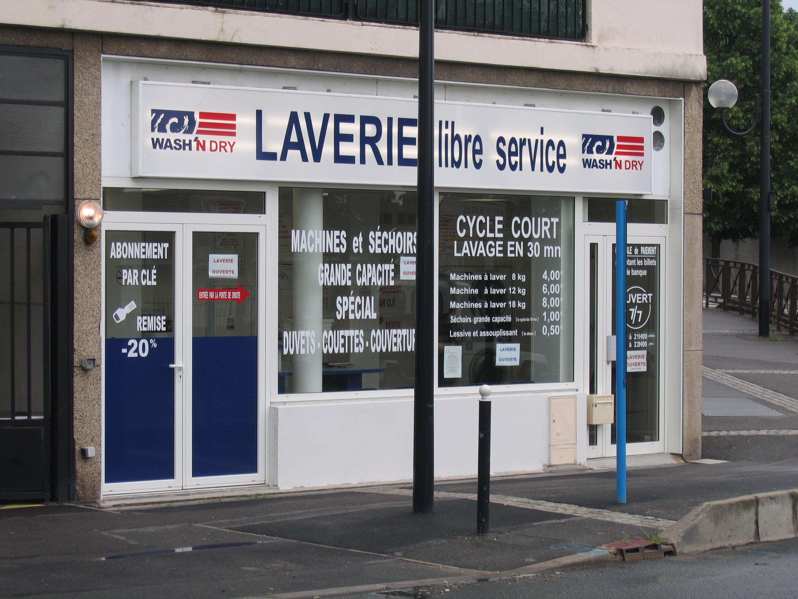 laverie libre service wash 39 n dry champigny sur marne wash 39 n dry. Black Bedroom Furniture Sets. Home Design Ideas