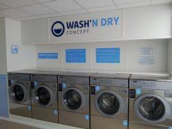 ouvrir laverie libre service wash n dry