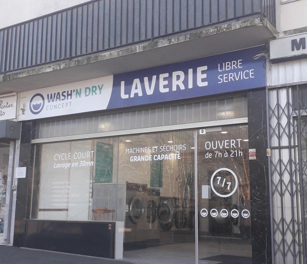 Laverie de Ballancourt sur Essonne 91