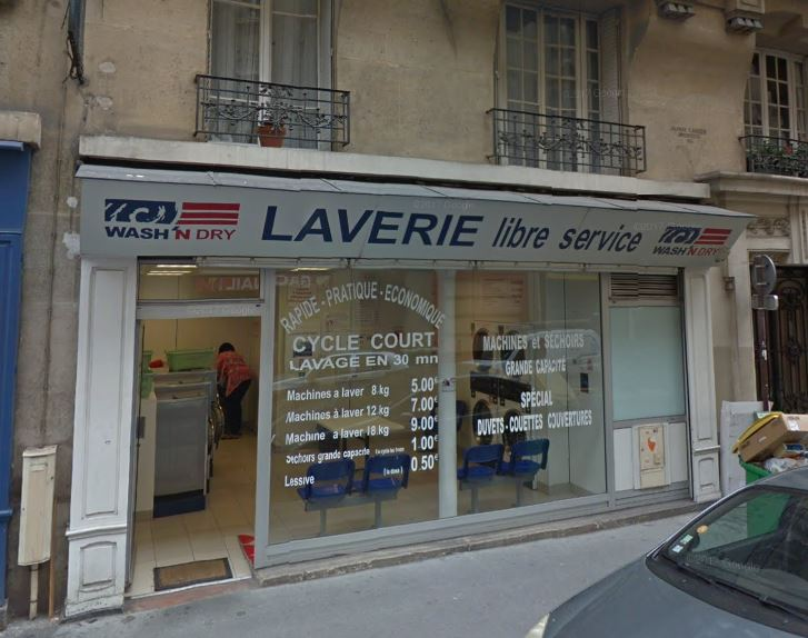 Laverie PARIS 15